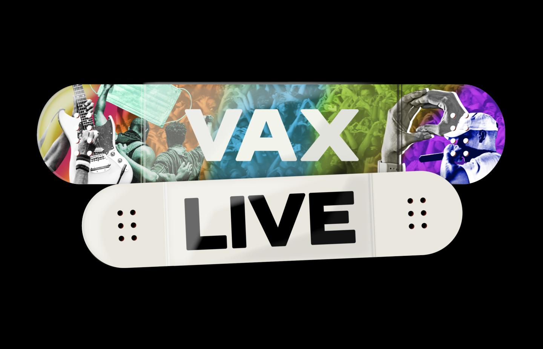 Global Citizen's VAX LIVE logo